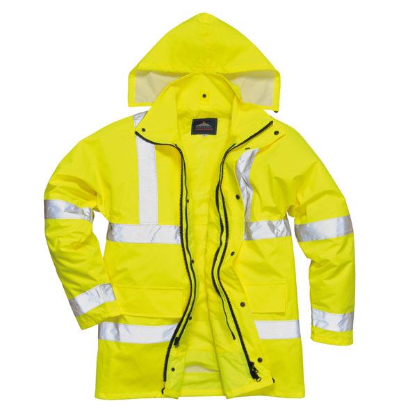 Portwest Hi-Vis 4-in-1 Traffic Jacket S468 - Yellow