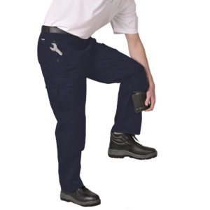 S887 Portwest Action Trousers - Navy Blue