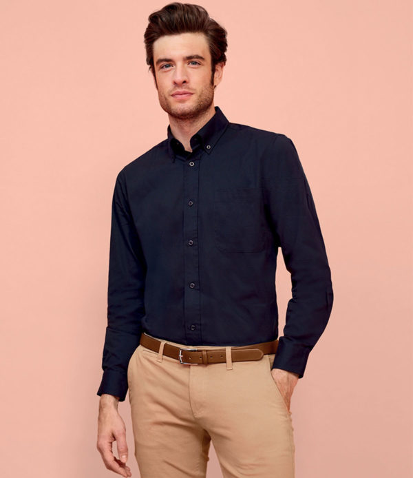 SOLS Bel-Air Long Sleeve Twill Shirt 16090