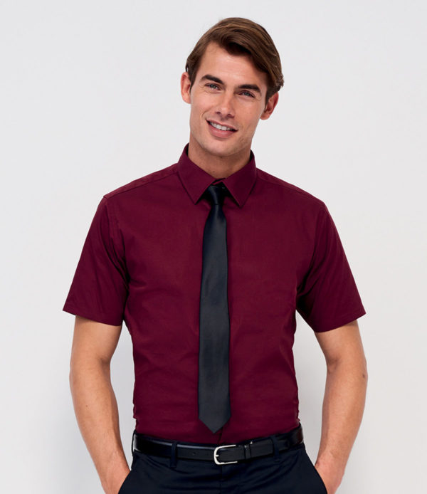 SOLS Short Sleeve Fitted Shirt