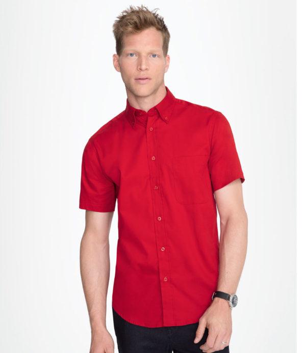 SOLS Brooklyn Short Sleeve Twill Shirt 16080