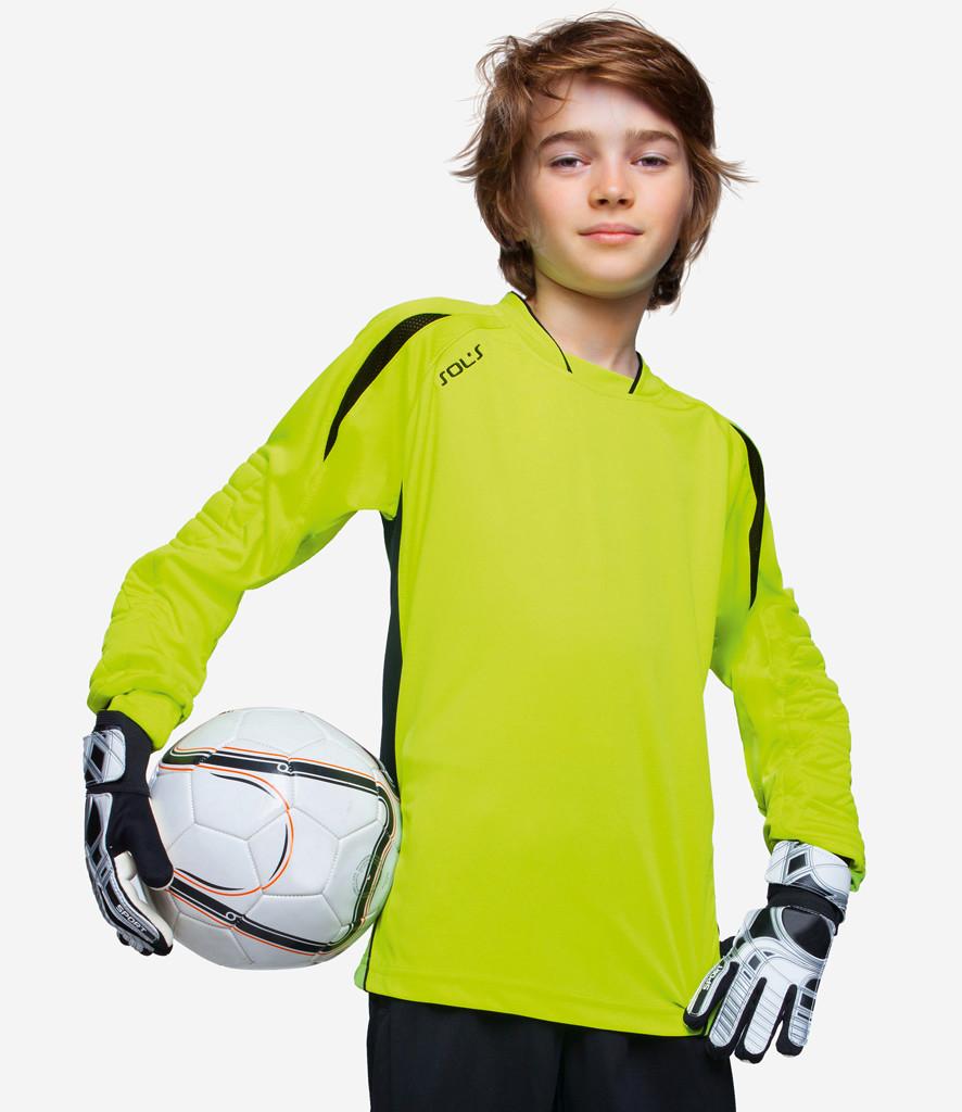 79c111b241f SOLS Kids Azteca Goalkeeper Shirt – 90209