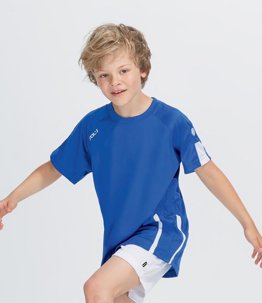 SOLS Kids Wembley Short Sleeve Shirt