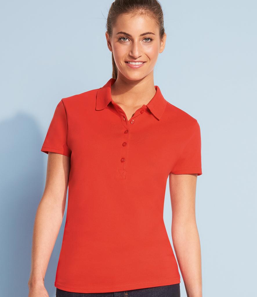 Ladies phoenix pique polo shirt 01709 sols for Ladies pique polo shirts