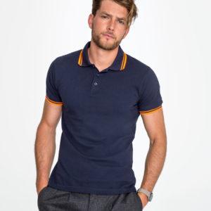 SOLS Pasadena Tipped Pique Polo Shirt 10577