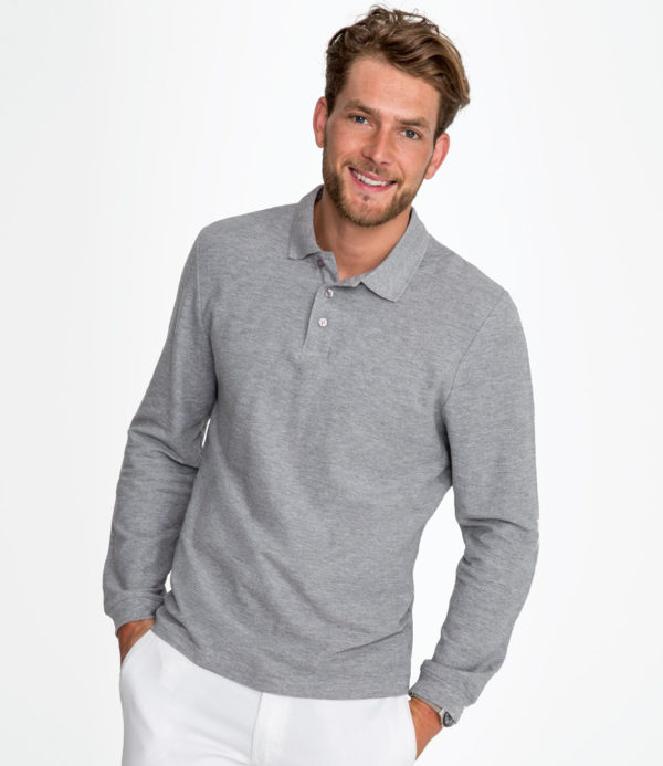 SOLS Winter II Long Sleeve Cotton Pique Polo Shirt 11353