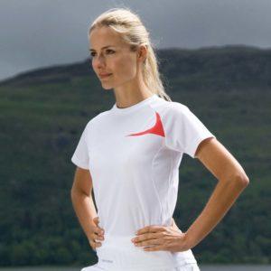 Spiro Ladies Dash Training Shirt SR182F