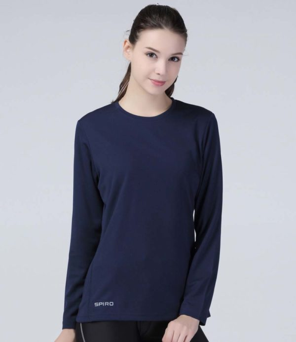 Spiro Ladies Performance Long Sleeve T-Shirt SR254F