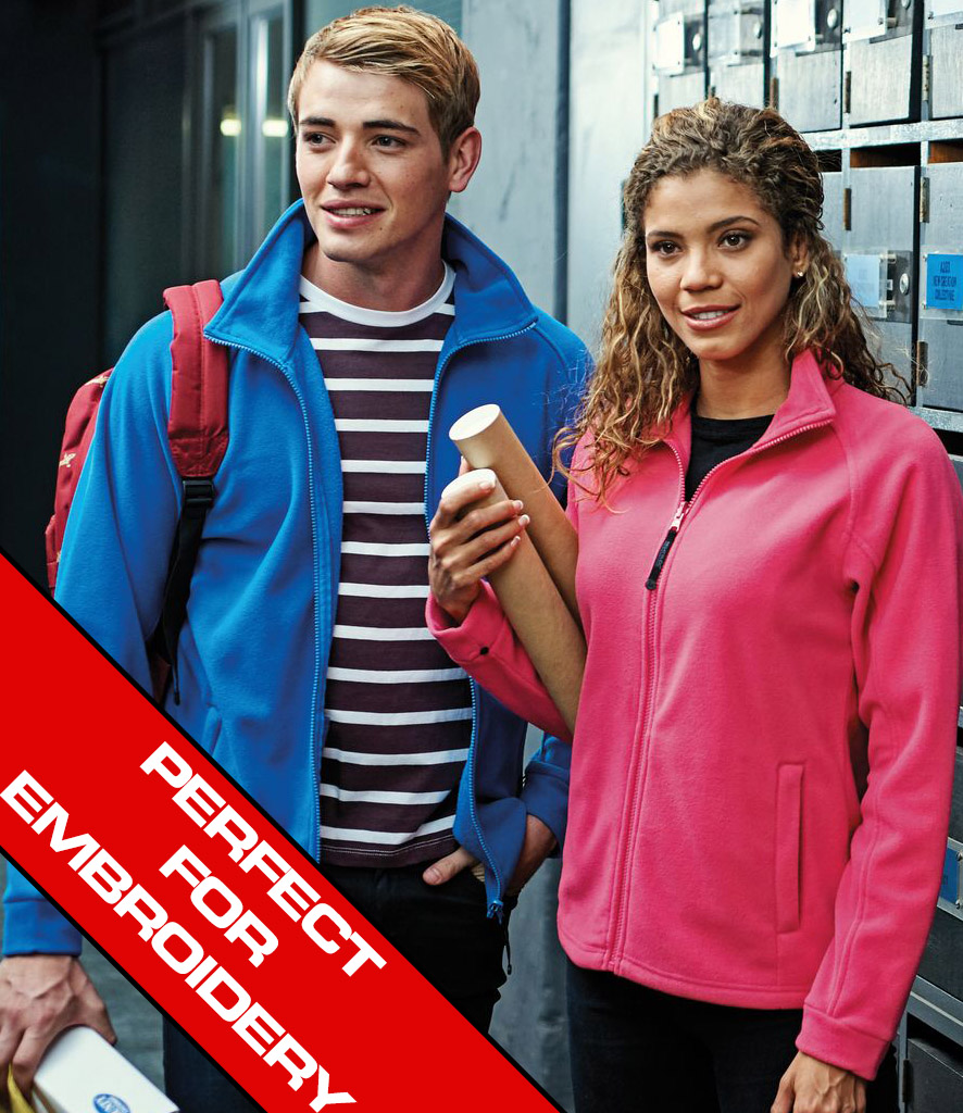 Embroidered Fleece Jackets | No Minimum | Fleece Jacket