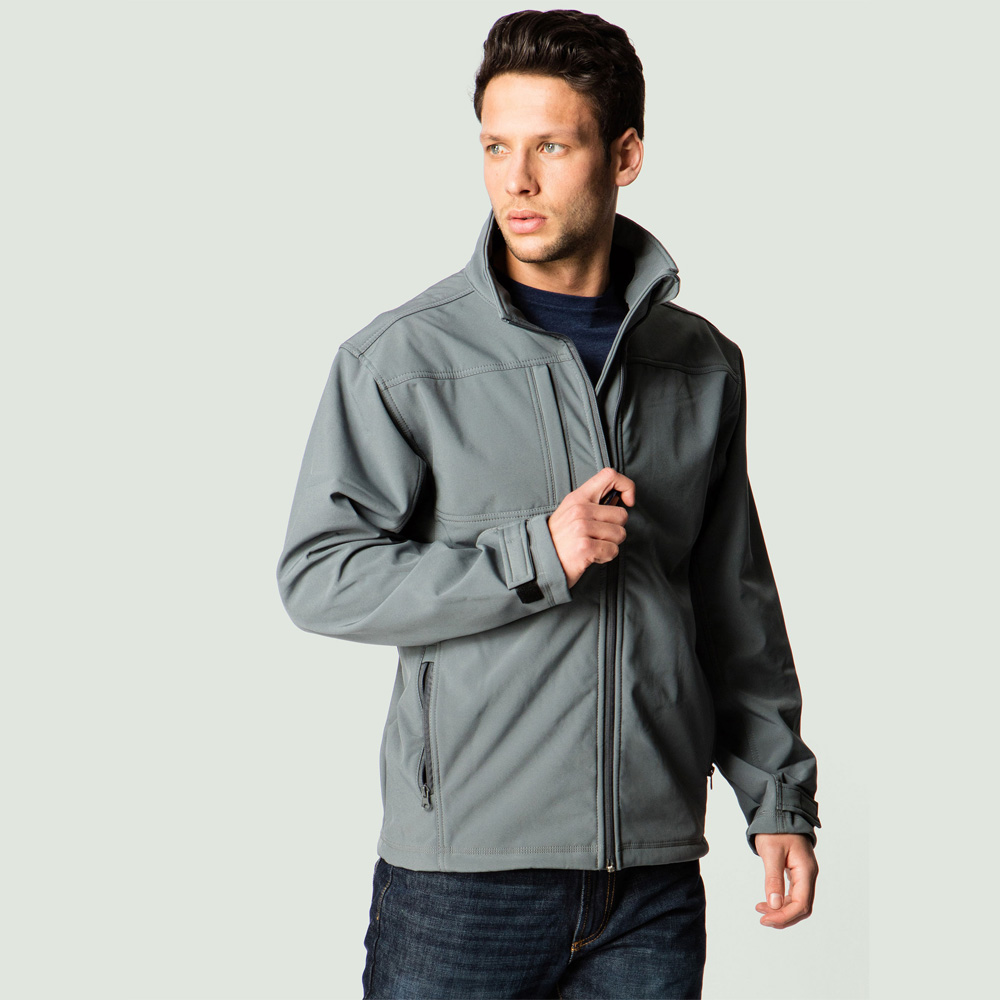 Uneek UC611 Polyester Elastane Mens Premium Full Zip Soft Shell Jacket