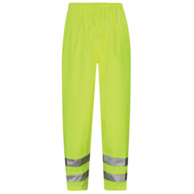 Viking Hi-Vis Waterproof Overtrousers Yellow