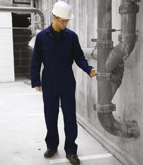 Warrior Stud Front Coverall DV002