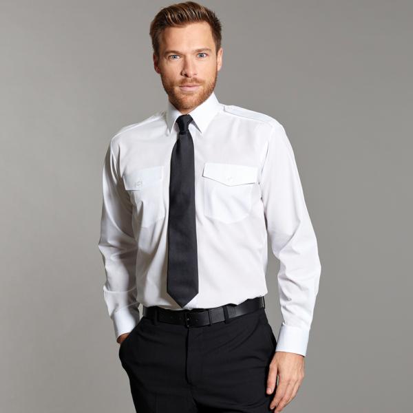 Williams Pilot Shirt White