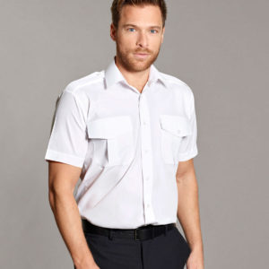 Williams Premium Weight Pilot Shirt Short Sleeves