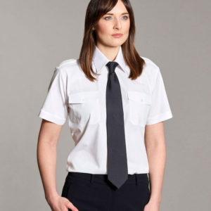 Williams Womens Pilot Shirt Short Sleeves