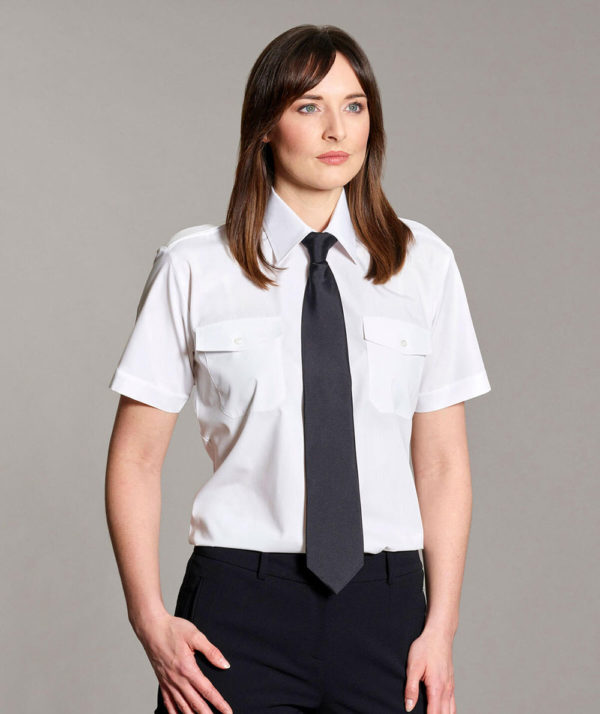 Williams Womens Pilot Shirt Short Sleeves