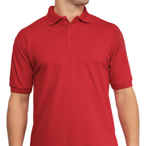 Classic Workwear Polo Shirt - Red