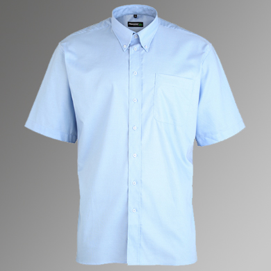 HammerTex Premium Oxford Shirt - Button Down Collar