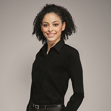 Disley Ladies Black Blouse
