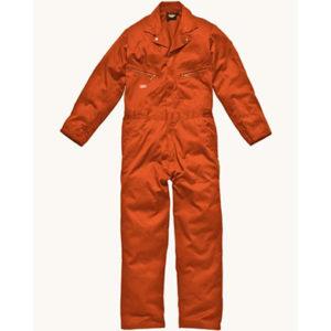 Dickies Deluxe Overall Orange WD4879