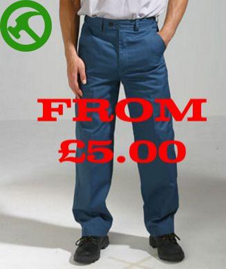 Super Knee Pad Workwear Trousers