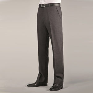 Disley Mens Wool Rich Flat Fronted Trousers