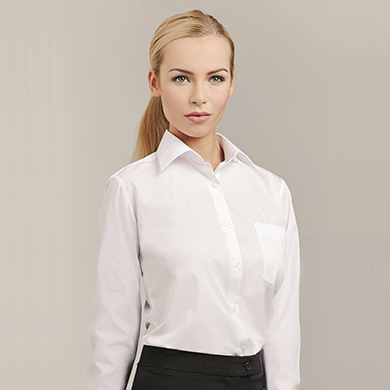 Womens Classic Collar Blouse