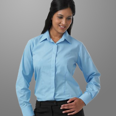 Williams Womens Fly Front Blouse