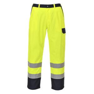 portwest hivis bizflame trousers FR92