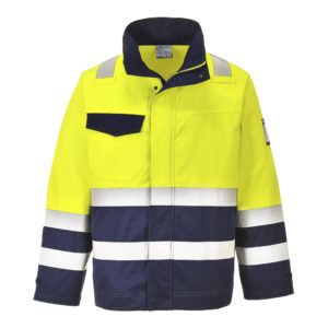 Portwest hivis modaflame jacket MV25