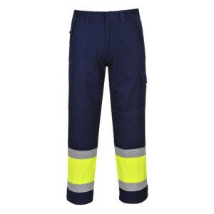 portwest hivis modaflame trousers MV26