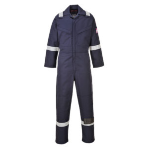 portwest modaflame coverall navy MX28