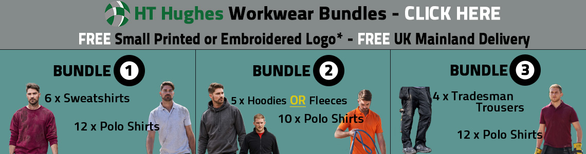 Workwear Bundle with Embroidery or Print